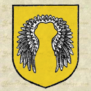 An eagle's lure in heraldry