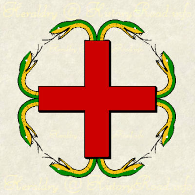 Anserated Cross