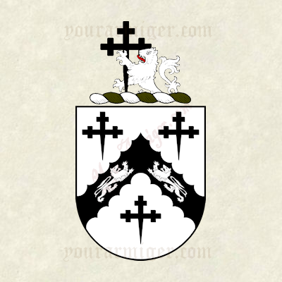 The coat of arms and family crest of Joel Barlow
