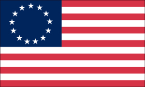 "The Betsy Ross flag has stars ""in annulo."""