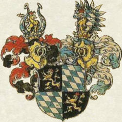 Arms of the Hertzog Lutzelstein from the Siebmacher Roll