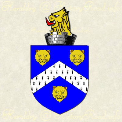 The coat of arms of John Ashby