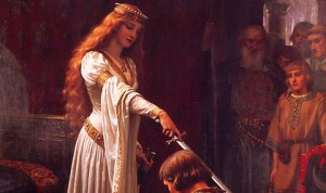 The Accolade by Edmund Blair Leighton (1901)